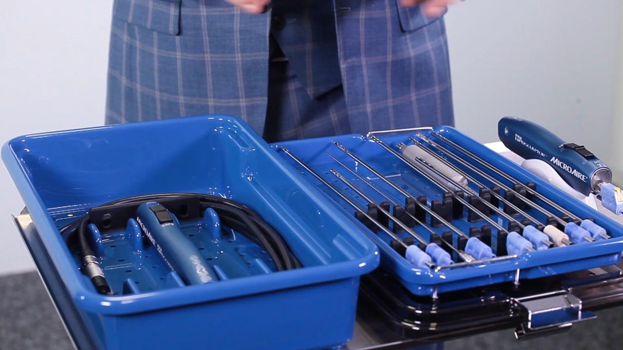 MicroAire PAL autoklavierbares Handstück und Kanülen - Liposuction Geräte