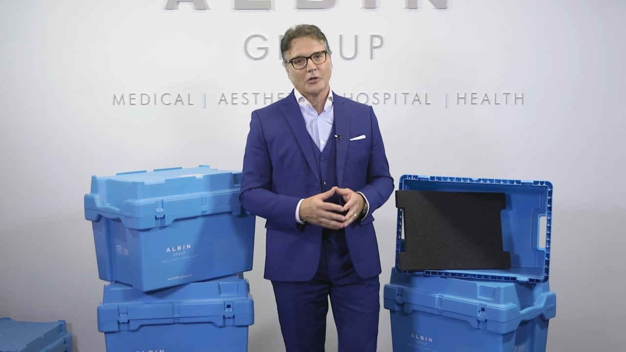 Innovatives Verpackungssystem für Brustimplantate